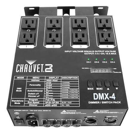Dmx 4 Channel Dimmer