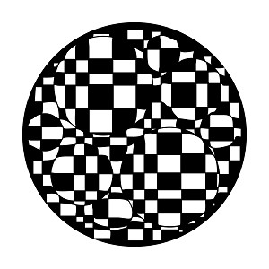 Checkerboard Bubbles