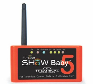 Show Baby 6 Wireless DMX Transciever